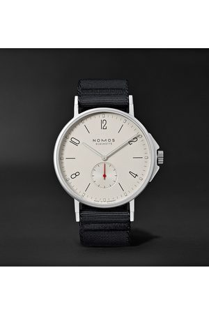 Nomos Glashütte Uomo Orologi - Ahoi Automatic 40mm Stainless Steel and Nylon Watch, Ref. No. 550