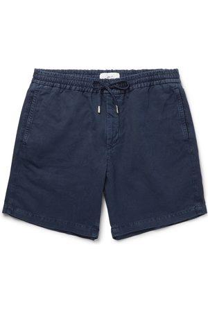 Mr P. Uomo Pantaloncini - Linen and Cotton-Blend Drawstring Shorts