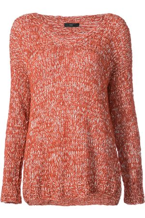 Voz Twist v-neck jumper