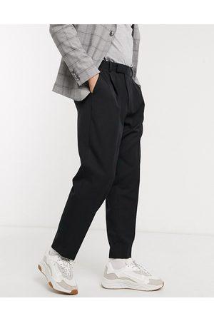ASOS DESIGN Pantaloni eleganti affusolati oversize neri