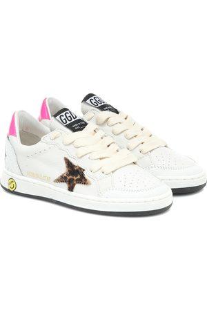 Golden Goose Sneakers Ball Star in pelle