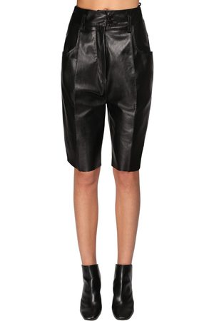PETAR PETROV Shorts Slim Fit In Pelle