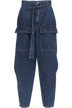Stella McCartney Jeans Tapered Fit In Denim Di Cotone