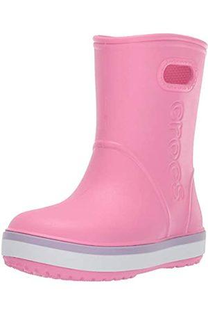 Crocs Crocband Rain Boot Kids', Stivali di Gomma Unisex-Bambini, Rosa , 30/31 EU