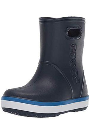 Crocs Crocband Rain Boot Kids', Stivali di Gomma Unisex-Bambini, Blu , 32/33 EU