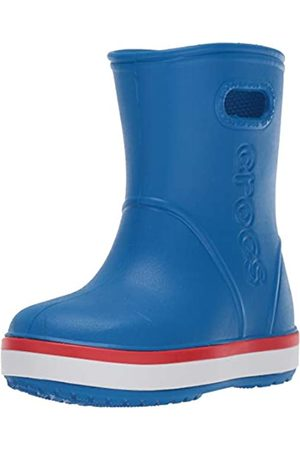 Crocs Crocband Rain Boot Kids', Stivali di Gomma Unisex-Bambini, Blu , 23/24 EU
