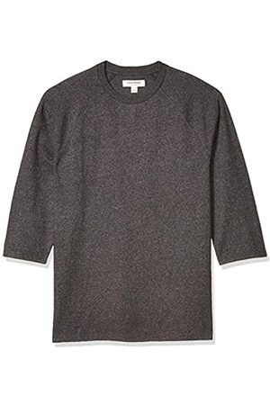 Goodthreads Soft Cotton Baseball T-Shirt Novelty-t-Shirts, Antracite Melange, US