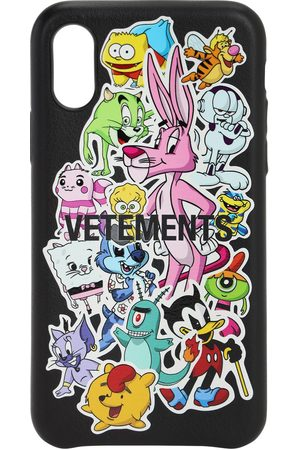 "Vetements Cover Iphone Xs ""monster Stickers"""