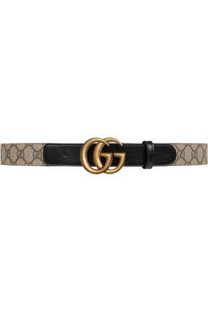 Gucci Donna Cinture - Cintura motivo GG con fibbia Doppia G