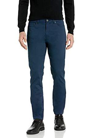Buttoned Down Pantaloni Chino Slim Fit a 5 Tasche, Facili da Pulire, Elasticizzati, in Twill Casual-Pants, Dainty, 30W x 29L