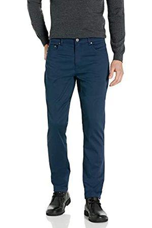 Buttoned Down Pantaloni Chino in Twill Elasticizzati a 5 Tasche, vestibilità Dritta, Facili da Pulire. Casual-Pants, Dainty, 36W x 29L