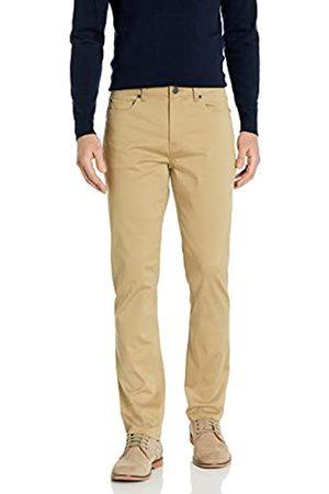 Buttoned Down Pantaloni Chino Slim Fit a 5 Tasche, Facili da Pulire, Elasticizzati, in Twill Casual-Pants, Grano, 30W x 28L