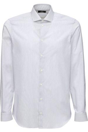 """ALESSANDRO GHERARDI Camicia """"1000 Righe"""" In Cotone"""