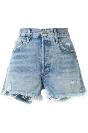 AGOLDE Shorts Swap Meet effetto vissuto