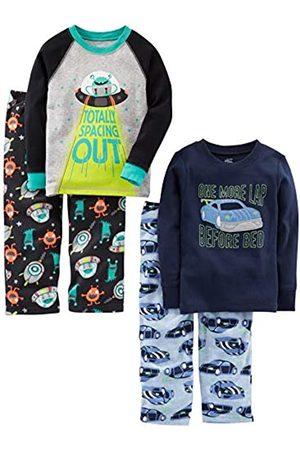 Simple Joys by Carter's Infant-And-Toddler-Pajama-Sets, Racer Cars/Space, 3T