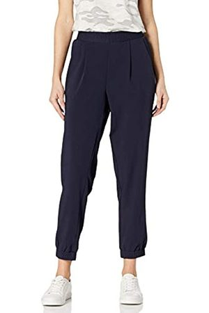 Daily Ritual Fluid Stretch Woven Twill Jogger Pant with Ribbed Cuff Pants, Dainty, US