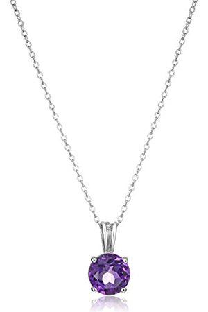 Amazon Collection Rodio-placcato-argento, colore: Purple, cod. R3A6GD13FW