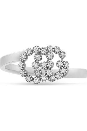 Gucci Anello GG Running 18 carati con diamanti