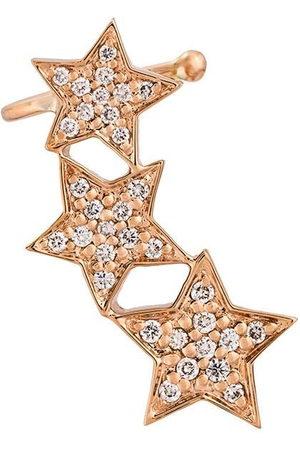 ALINKA Donna Orecchini - Ear cuff in oro rosa 18kt e diamanti STASIA - Effetto metallizzato