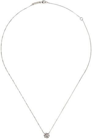 Suzanne Kalan Collana con pendente in 18kt e diamanti - WHITE GOLD