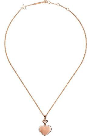 Chopard Collana con ciondolo a cuore X 007 Happy Hearts - Golden Hearts - ROSE GOLD
