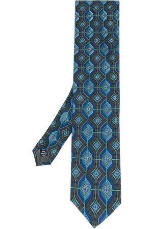Gianfranco Ferré Uomo Cravatte - Cravatta con stampa geometrica 1990
