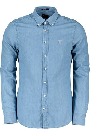 GANT CAMICIA IN CHAMBRAY SLIM