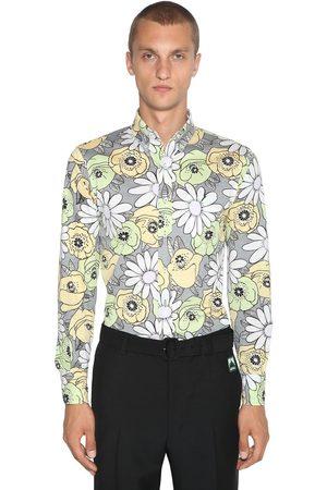 Prada Camicia In Cotone Floreale