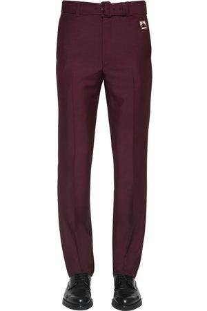 Prada Pantaloni In Misto Di Mohair 21cm