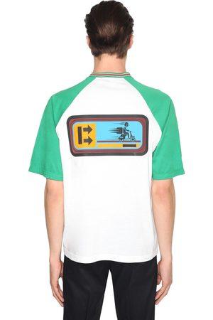 "Prada T-shirt ""delivery Boy"" In Jersey Di Cotone"