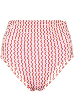 ASCENO Slip bikini Deia a stampa
