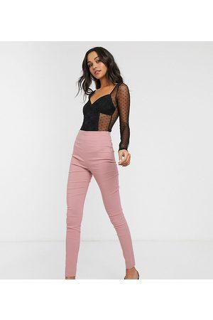 ASOS ASOS DESIGN Tall - Pantaloni skinny a vita alta