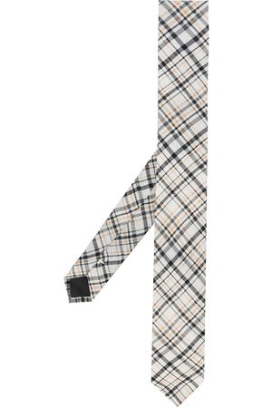 Gianfranco Ferré Uomo Cravatte - Cravatta con motivo tartan anni '90