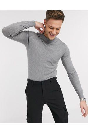 Gianni Feraud Maglione premium stretch attillato con collo alto a maglia fine