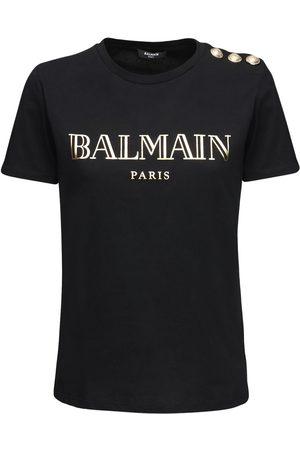 Balmain T-shirt In Jersey Di Cotone