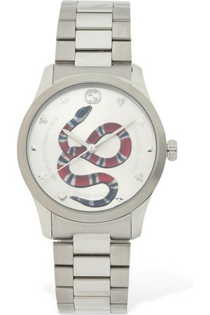 "Gucci Orologio ""g-timeless"" Con Motivo Serpente 38mm"
