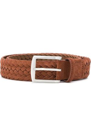 Scarosso Cintura intrecciata con fibbia squadrata - Toni neutri