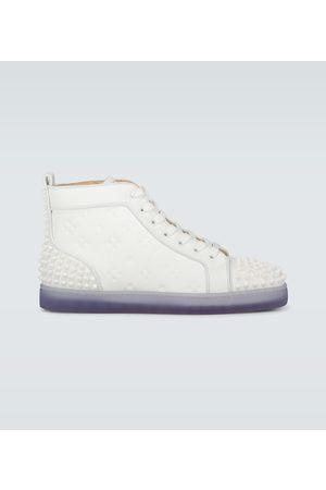 Christian Louboutin Sneakers Lou Spikes II in pelle