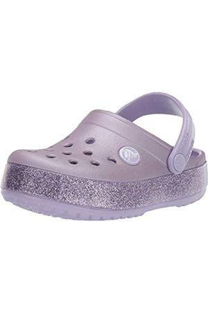 Crocs Crocband Glitter Clog Kids, Zoccoli Unisex-Bambini, Viola , 22/23 EU