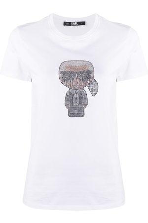 Karl Lagerfeld T-shirt Ikonik Karl con strass
