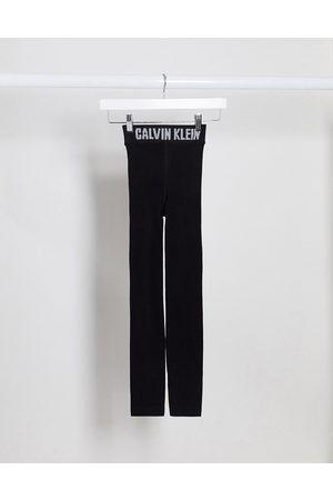 Calvin Klein Leggings con logo icona neri