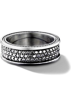 David Yurman Anello con pavé di tre righe in diamanti - SSABD
