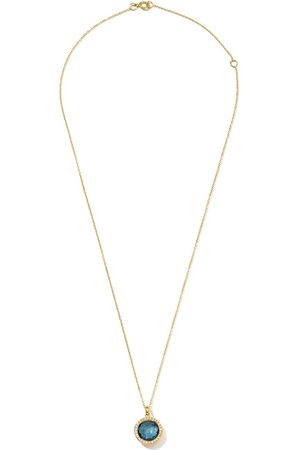 Ippolita Collana con pendente Lollipop in 18kt, diamanti e topazio - Gold