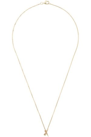 Daou Donna Collane - Collana con pendente in giallo 18kt e diamanti - Gold