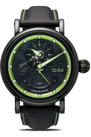 Chronoswiss Orologio cronografo - Black and green