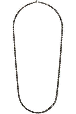 David Yurman Collana 'Box Chain' - Effetto metallizzato