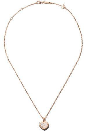 Chopard Collana con pendente 'Happy Diamonds Icons' in 18kt e diamanti - ROSE GOLD