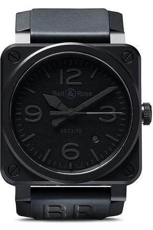 Bell & Ross Orologio 'BR 03-92 Phantom Ceramic 42mm' - BLACK B BLACK