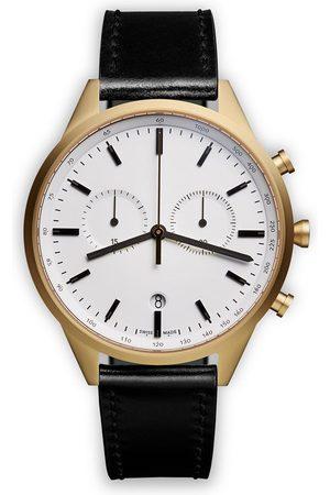 Uniform Wares Orologio cronografo 'C41' - Effetto metallizzato