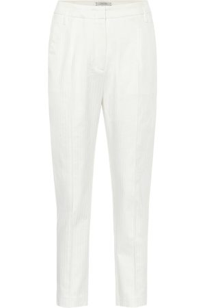 Dorothee Schumacher Pantaloni Tailored Coolness in cotone